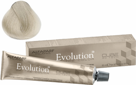 Alfaparf Milano Evolution of the Color Cube 3D Harmonizer .013 Soft Ash Gold 2.5 oz 2019
