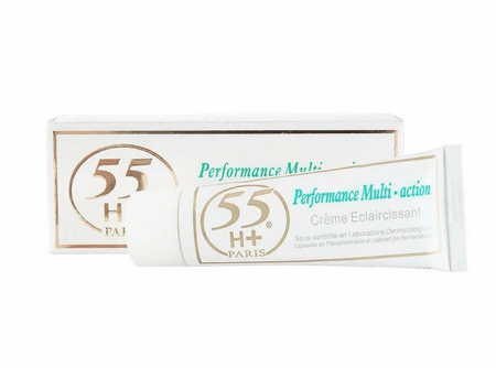 55 H+ Ultra Performance Multi Action Strong Toning Treatment 1.7 oz / 50ml