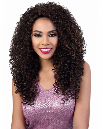 Motown Tress QE.Bling Half Wig Synthetic