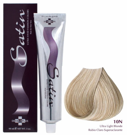 Satin Ultra Vivid Hair Color 10N Ultra Light Blonde