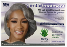 Gentle Treatment No-Lye Conditioning Creme Relaxer Gray