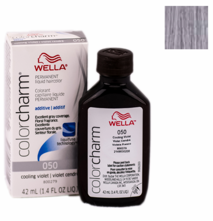 Wella Color Charm Permanent Liquid Haircolor 050 Cooling Violet 1.4 oz