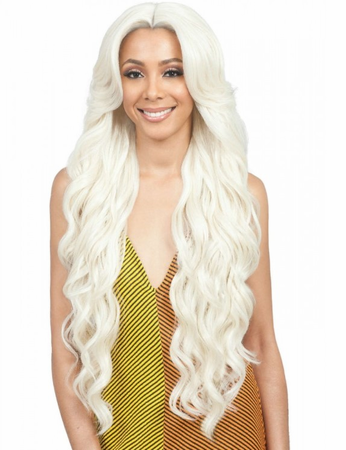 Bobbi Boss Premium Aubrey Swiss Lace Front Wig Synthetic New 2019