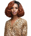 Bobbi Boss Cindy Swiss Lace Front Wig Synthetic