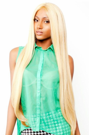 R&B Collection HL-Temple Lace Front Wig Human Hair Blend
