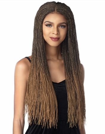 Sensationnel Cloud 9 Micro Twist Swiss Lace Front Wig Synthetic New 2019