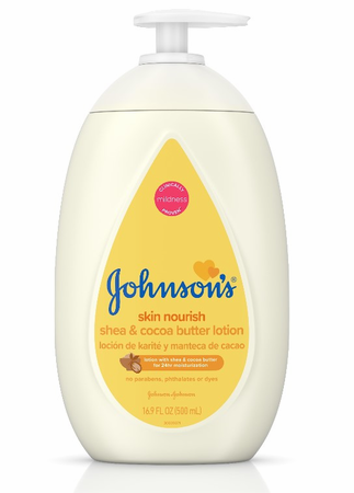 Johnson's Skin Nourish Shea & Cocoa Butter Lotion 16.9 oz