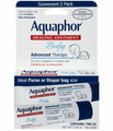 Aquaphor Healing Ointment Baby Advanced Therapy Skin Protectant 0.35 oz 2 Count