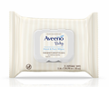 Aveeno Baby Hand & Face Wipes with Oat Extract & Aloe Fragrance-Free 25 Count