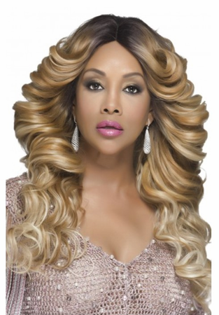 Vivica A Fox Glam Lace Front Wig Synthetic