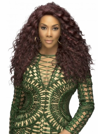 Vivica A Fox Julia Lace Front Wig Synthetic