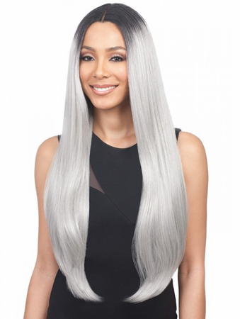 Bobbi Boss Premium Beatrice Swiss Lace Front Wig Synthetic New 2019