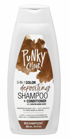 Jerome Russell Punky Colour 3-in-1 Color Depositing Shampoo + Conditioner Mochanificent 8.5 oz