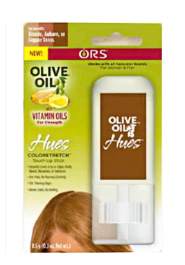 ORS Olive Oil Hues Color Stretch Touch Up Stick Blonde, Auburn or Copper Tones 0.3 oz DISC