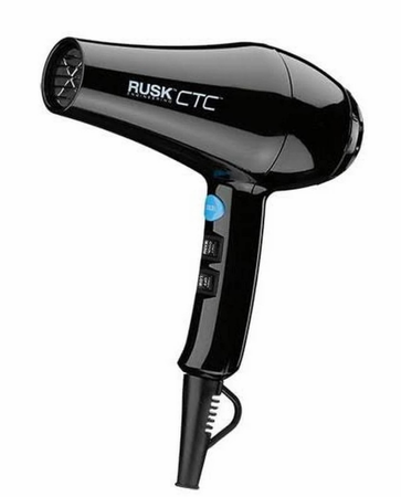 Rusk CTC Lite 1900 Watt Lightweight Hair Dryer Black