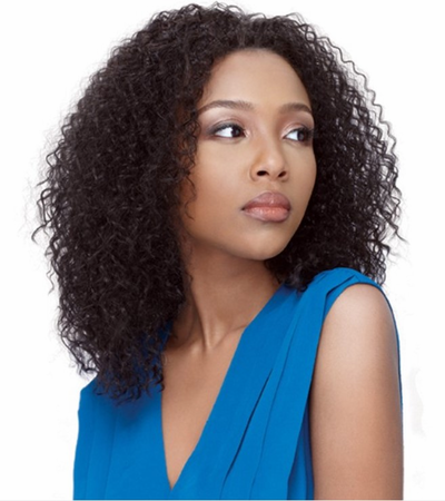 Outre Quick Weave Tisha Half Wig Synthetic