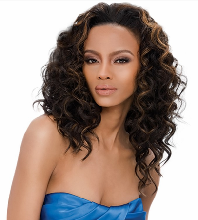 Outre Quick Weave Kenya Half Wig Synthetic