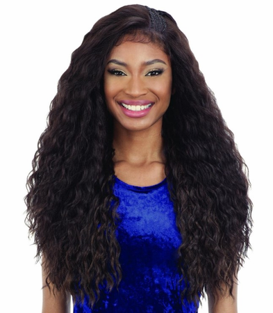 FreeTress Equal Premium Braided Edge BLW-001 Frontal Lace Wig Synthetic