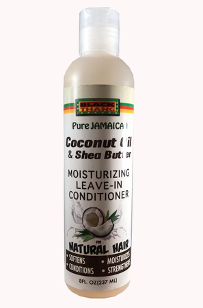 Black Thang Coconut Oil & Shea Butter Moisturizing Leave-In Conditioner 8 oz