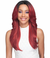 Bobbi Boss Taylah 360 Swiss Lace Wig Human Hair Blend New 2019