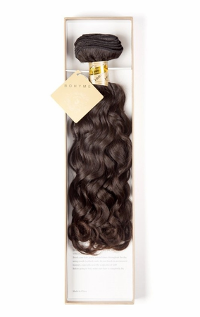 Bohyme Birth Remi Weave Natural Curly 18