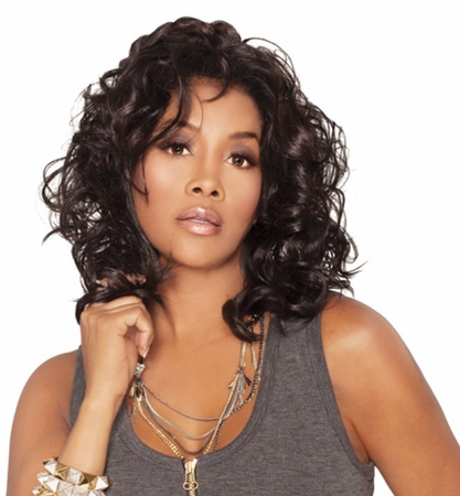 Vivica A Fox Joanna Lace Front Wig Synthetic