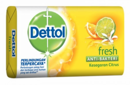 Dettol Fresh Antibacterial Soap 125g / 3.8oz