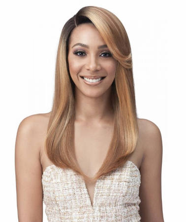 Bobbi Boss Premium Bianca Swiss Lace Front Wig Synthetic