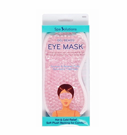 Cala Spa Solutions Gel Beads Eye Mask Pink 69203