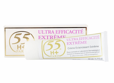 55H+ Ultra Efficacite Extreme Strong Bleaching Treatment 1.7 oz