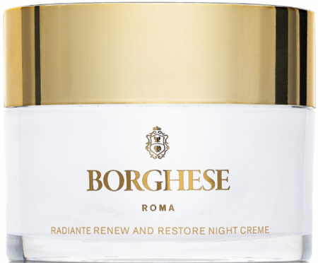 Borghese Radiante Renew and Restore Night Creme 1.0 oz