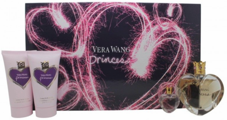 Princess By Vera Wang For Women 4 Piece Fragrance Gift Set 2018