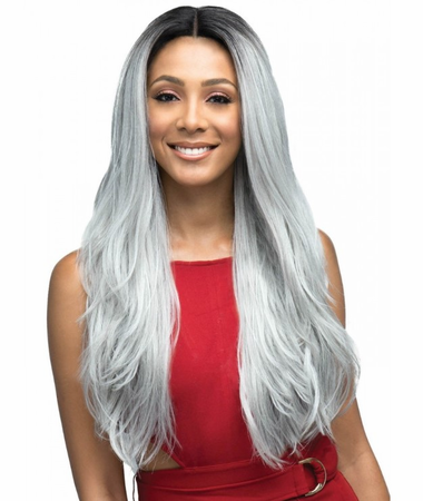 Bobbi Boss Daryna Swiss Lace Front Wig Synthetic