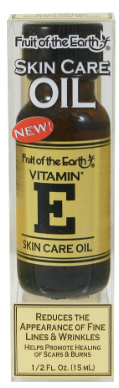 Fruit of the Earth Vitamin E Skincare Oil 0.5 oz 2019