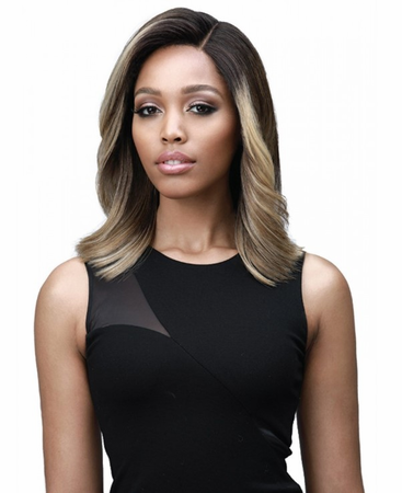 Bobbi Boss Premium Harlow Swiss Lace Front Wig Synthetic