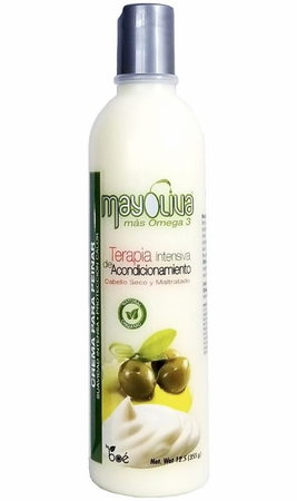 MayOliva Omega 3 Leave-In Conditioner 12 oz