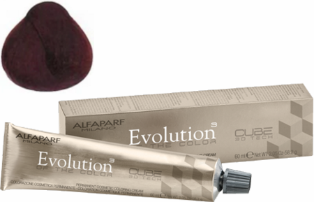 Alfaparf Milano Evolution of the Color Cube 3D Tech Hair Color 5.6 Light Red Brown 2 oz 2019