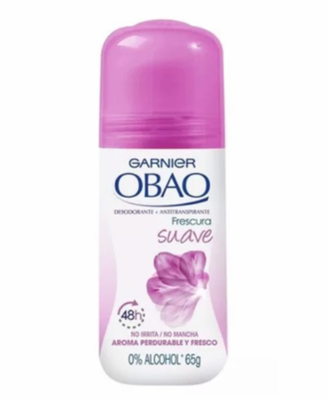 Garnier Obao Soft Suave Antiperspirant Roll-On 2.3 oz