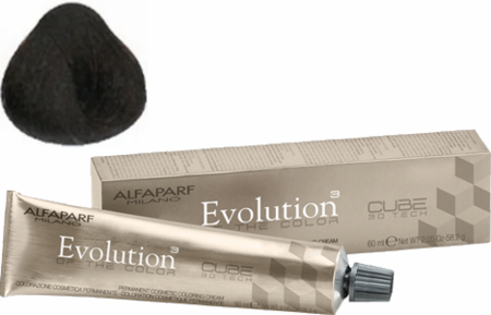 Alfaparf Milano Evolution of the Color Cube 3D Tech Hair Color 5NB Light Warm Natural Brown 2 oz 2019