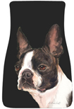 Boston Terrier Car Mats (Pr.)