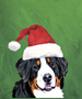 Bernese Mountain Dog  - Van Vliet Christmas Large Flag