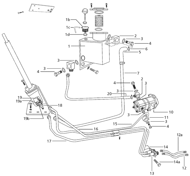 john deere 5525 wiring diagram sealing washer for mounting the hydraulic pump on 4500  sealing washer for mounting the hydraulic pump on 4500