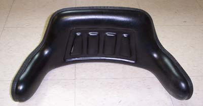 SEAT REPLACEMENT UPPER BACK CUSHION WITH SIDE WINGS FOR E-40 MAHINDRA TRACTOR (TS1050BR)