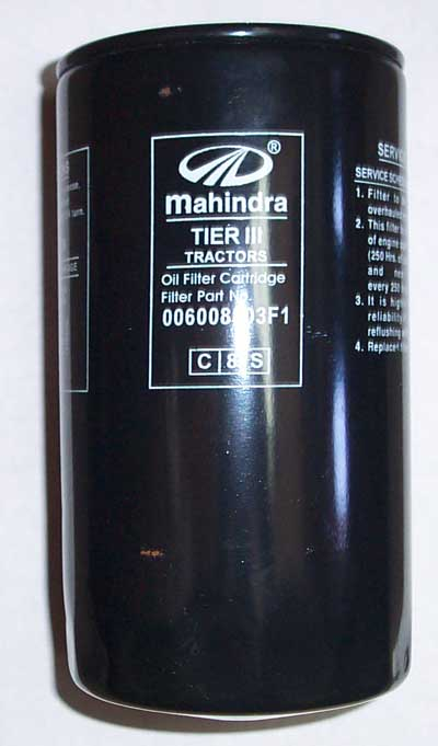 ENGINE OIL FILTER FOR (LATER) 6530 MAHINDRA TRACTOR