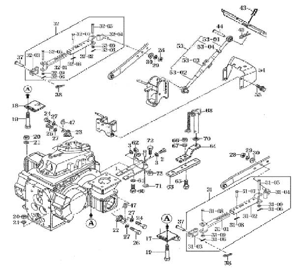 newer telescoping sway arms for 4110 mahindra tractor rh billstractor net Basic Tractor Wiring Diagram Ford 800 Tractor Wiring Diagram