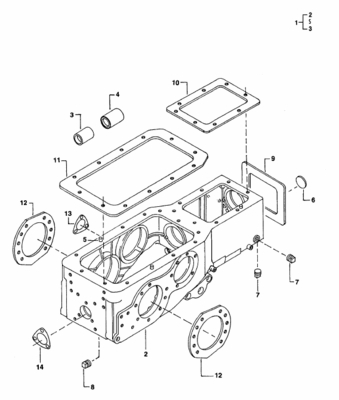 GASKET FOR TRANSMISSION TOP ON E-40 MAHINDRA TRACTOR
