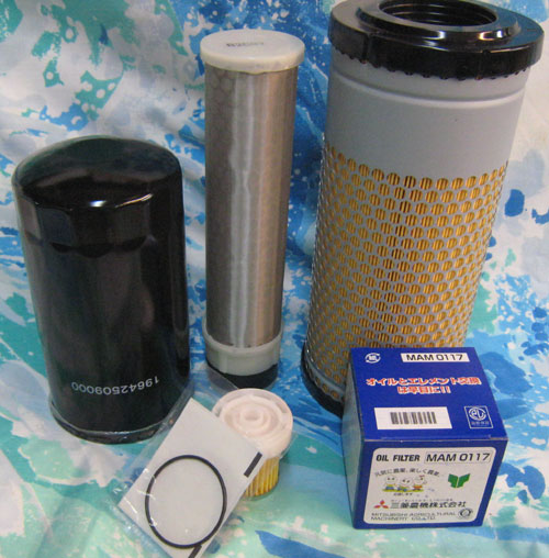 Tractor Transmission Filters : Discount service filter pack for standard