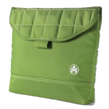 """Sumo 13"""" Green Padded Laptop Computer Sleeve"""
