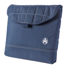 "Sumo 12"" Navy Blue Padded Laptop Computer Sleeve"