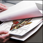 Laminating Pouch Carrier Sheets - Menu Size (3 Pack)